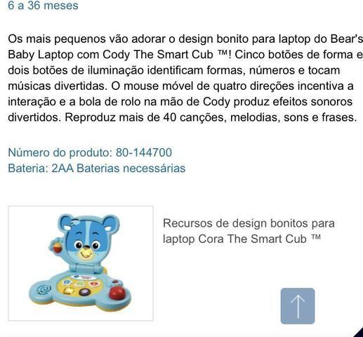Mesa de Atividades Bilíngue do Cachorrinho - Fisher-Price e dois brinquedos importados - Foto 3