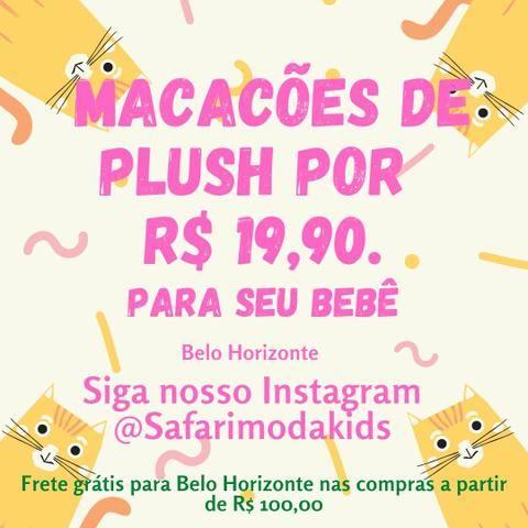 Macacões novos de plush por R$ 19,90 em Belo Horizonte