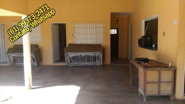 Ótima Casa Mobiliada no Lago de Serra da Mesa, Niquelândia, Goias. Aceita Carro - Foto 2