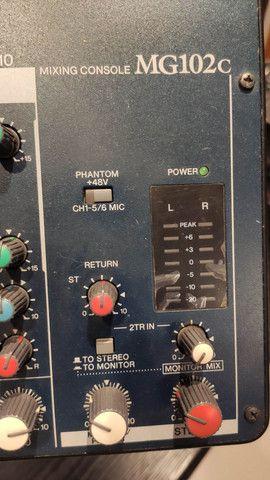 Yamaha Mg-102 Mesa De Audio Som Mixagem 10 Canais<br><br> - Foto 6