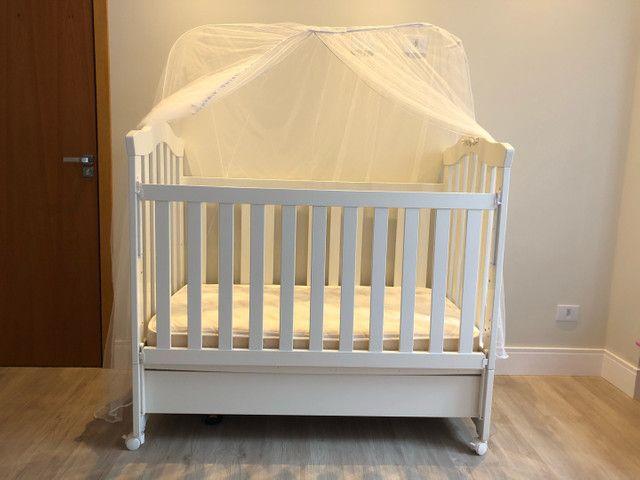Berço imperial (mini cama)+ colchão  - Foto 3