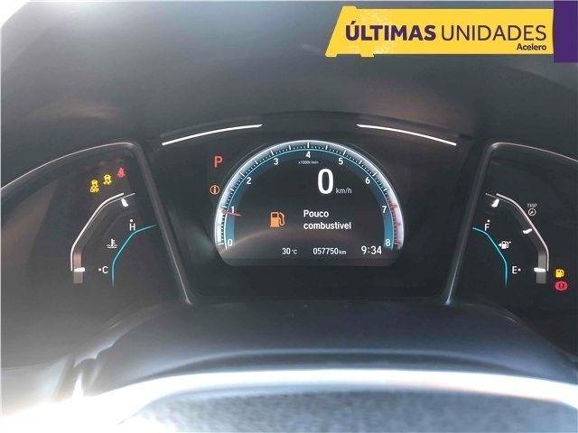 Civic 2.0 Flexone Ex 4p CVT Preta 18/18 R$108.200,00 km 57.248 *Jéssica Evelin* - Foto 7