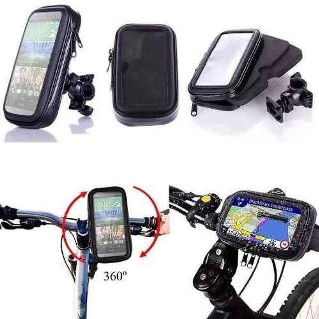 Suporte celular para moto e bike - Foto 5
