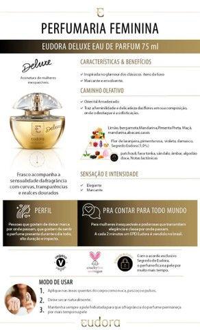 Eudora Deluxe Eau de Parfum 75ml - Foto 4