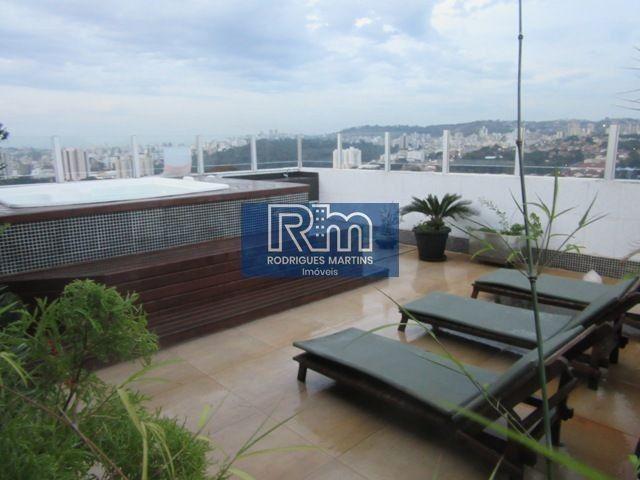 Cobertura à venda com 3 dormitórios em Serrano, Belo horizonte cod:3711 - Foto 2