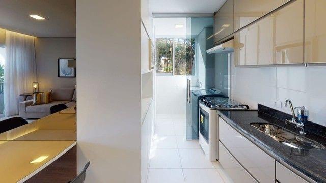 Apartamento de 2 quartos c/ varanda e suite 60m2 - Pampulha - Foto 4