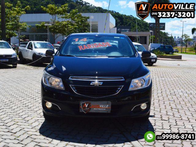 Chevrolet Prisma LT 1.0 Flex Completo*Rodas de Liga Leve*Motor 80CV - 2014 - Foto 2