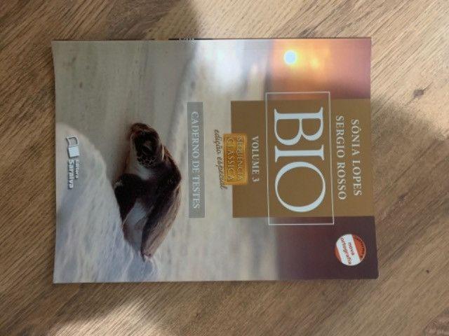 Livro biologia Sônia Lopes volume 3  - Foto 2