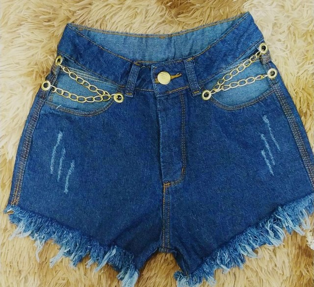 Shorts jeans e macaquito jeans - Foto 2