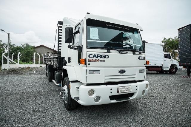 Ford Cargo 4331 6x2 Com Carroceria De 8 50m Caminhoes Indaial