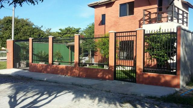 Casa duplex com ótimo padrão para venda em - Lagoa do Banana