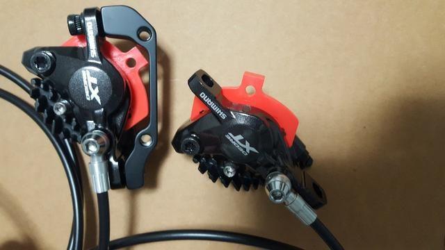 Par Freio Disco Hidráulico Shimano Xt M8000 Ice Tech