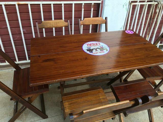 Mesas de madeiras