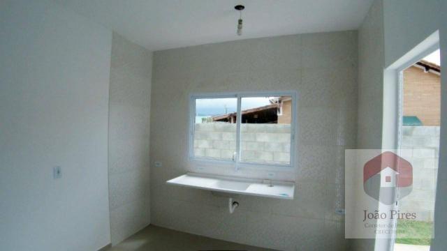 Casa com 2 dormitórios à venda, 70 m² por r$ 270.000 - jardim das gaivotas - caraguatatuba - Foto 5