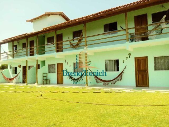 Pousada com 6 dormitórios à venda, 413 m² por r$ 799.000 - coroa vermelha - porto seguro/b - Foto 2