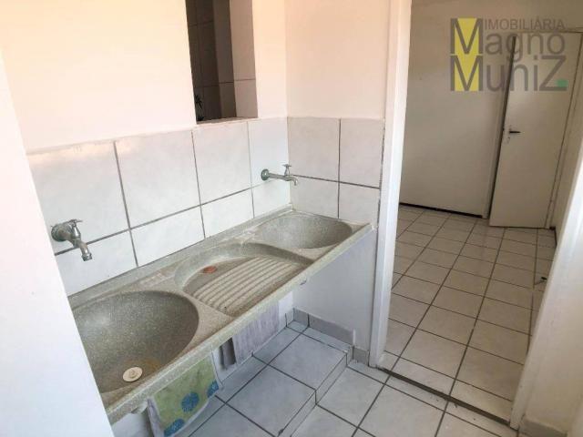 Apartamento com 3 dormitórios para alugar, 80 m² por r$ 1.000,00/mês - varjota - fortaleza - Foto 10