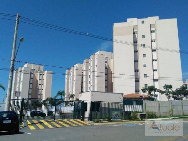 Apartamento com 2 dormitórios à venda ou locação, 57 m² - Residencial Viva Vista - Sumaré/