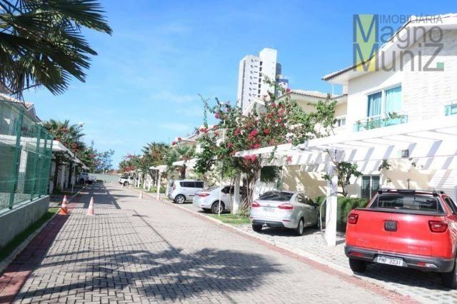 Casa duplex com 3 suítes projetadas para alugar, 140 m² por r$ 5.500/mês - praia do futuro - Foto 11