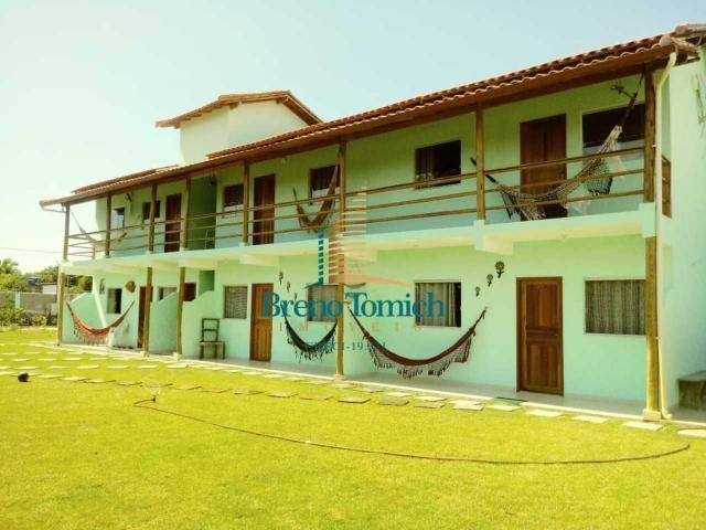 Pousada com 6 dormitórios à venda, 413 m² por r$ 799.000 - coroa vermelha - porto seguro/b - Foto 4
