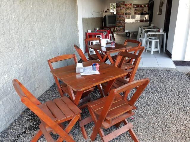 Jogo de mesa c 4 cadeira