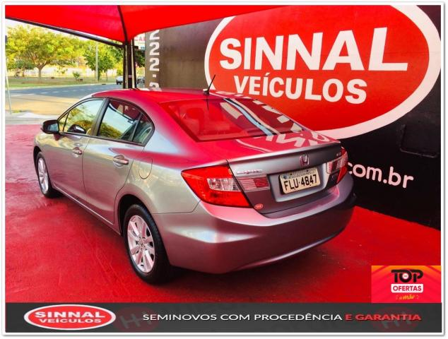 Honda Civic 2013/2014 2.0 LXR 16V Flex 4P Automático - Foto 5