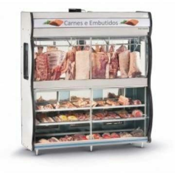 Balcão expositor de carne refrimate / Moedor de carne Ramar