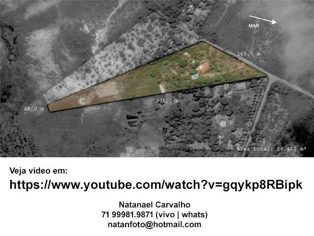 Sitio Coqueiros de Arembepe 20.400 m2 | com piscina