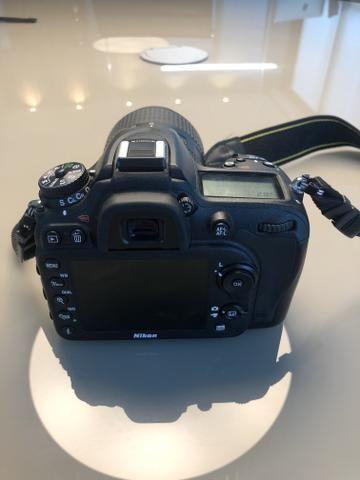 Nikon D7100 + Lente Nikor 18-300 + adaptador Wi-Fi + Carregador + Mochila - Foto 3