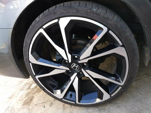 Vendo linda rodas aro 20 , 4 pneus estado de 0 perfil 225/35 - Foto 3