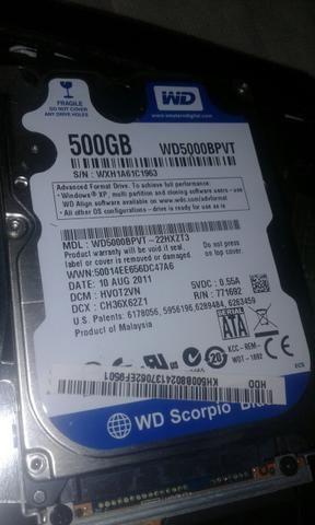 HD note 500gb