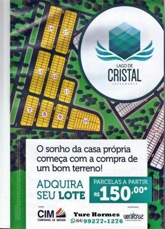 Caldas Novas Lotes - Sítio a Venda no bairro Residencial Lago De Cristal - Calda... - Foto 2