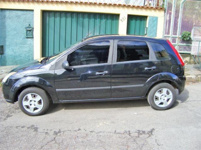 Ford Fiesta class flex 4 portas troco carro mais caro - Foto 6