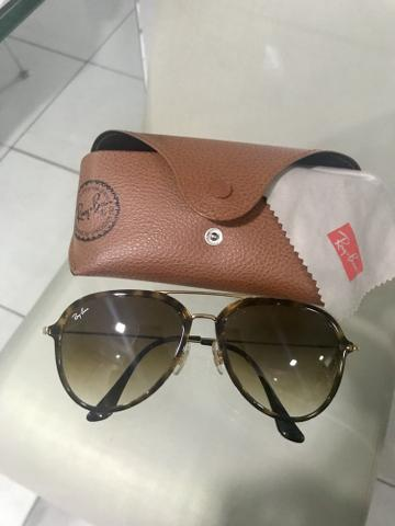 c76be76f2 Óculos Ray-Ban aviador tartaruga original - Bijouterias, relógios e ...
