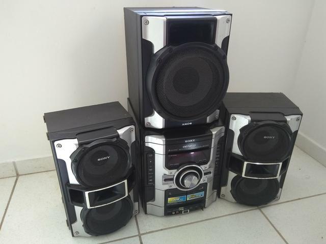 8bf3147c2 Vendo Mini System Sony (MHC GT44) - Áudio