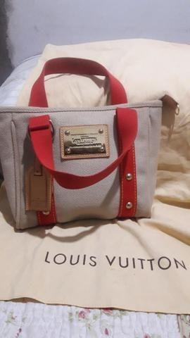 ccb0007ac Bolsa Louis Vuitton Antigua Bege - Bolsas, malas e mochilas ...