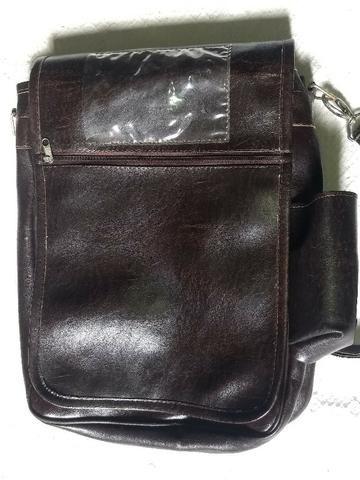 d3fa89a84 Bolsa de couro legítimo estilo carteiro - Bolsas, malas e mochilas ...