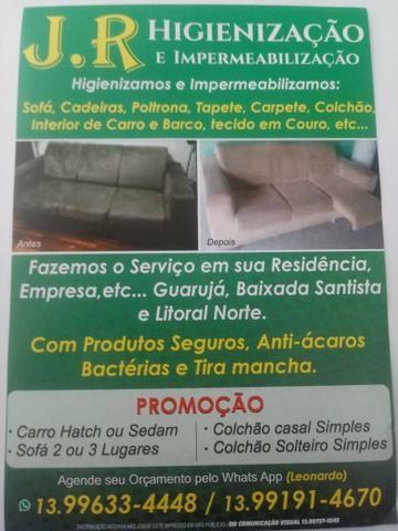 339b0e507b Higienização de estofados e limpeza de vidros - Serviços - Jardim ...