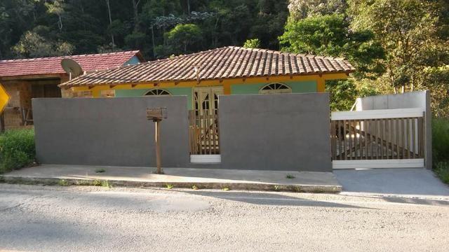 Vendo ou troco casa nas montanha mobilhada garagem rio posmozer santa maria 2 km centro - Foto 2