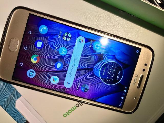 Celular Motorola G5S em estado de novo - Foto 3