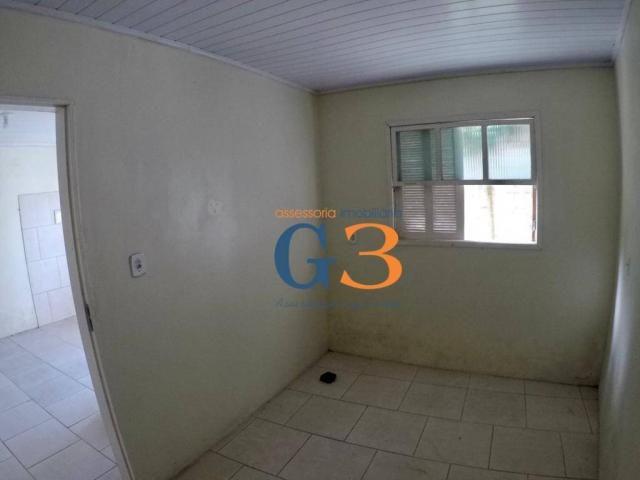 Casa com 1 dormitório para alugar, 30 m² por R$ 450/mês - Centro - Rio Grande/RS - Foto 3