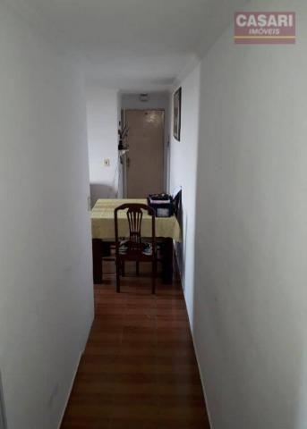 Apartamento com 2 dormitórios à venda, 55 m² - jardim irajá - são bernardo do campo/sp - Foto 2