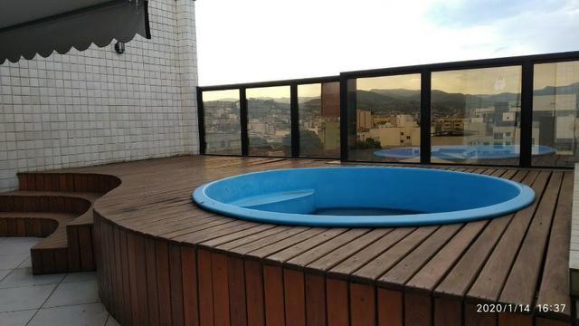 Cobertura em Ipatinga, 4 Qts/suíte, 236,97 m², 2 vagas, Área gourmet. Valor 450 mil - Foto 2