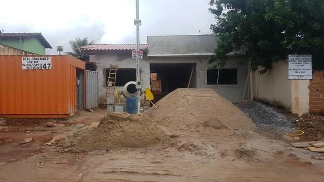 Duas casas novas setor cidade satélite são Luiz