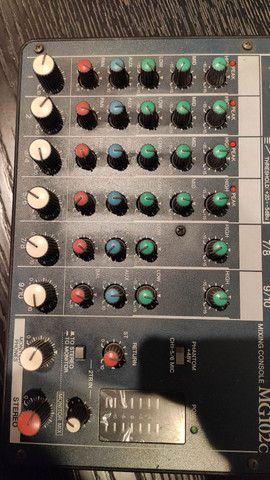 Yamaha Mg-102 Mesa De Audio Som Mixagem 10 Canais<br><br> - Foto 5