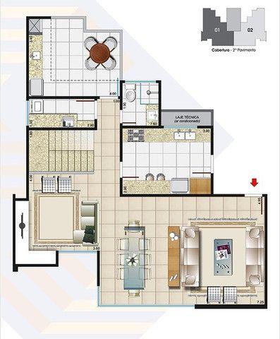 (J4) - Cobertura 4 quarto(s) para Venda no bairro Estrela Sul em Juiz de Fora - MG - Foto 3