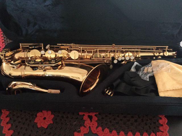 Oferta Saxofone Tenor Novo - Foto 2