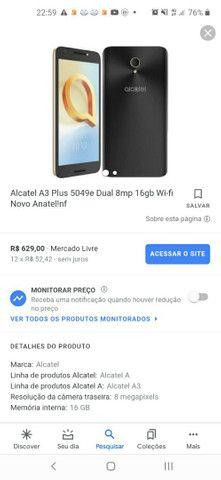 Alcatel a3 novinho na caixa  - Foto 4