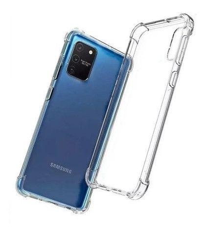 Capa Samsung A51 Transparente Anti Impacto c/ Borda Samsung - Foto 2