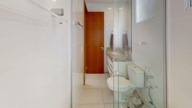 Apartamento de 2 quartos c/ varanda e suite 60m2 - Pampulha - Foto 2