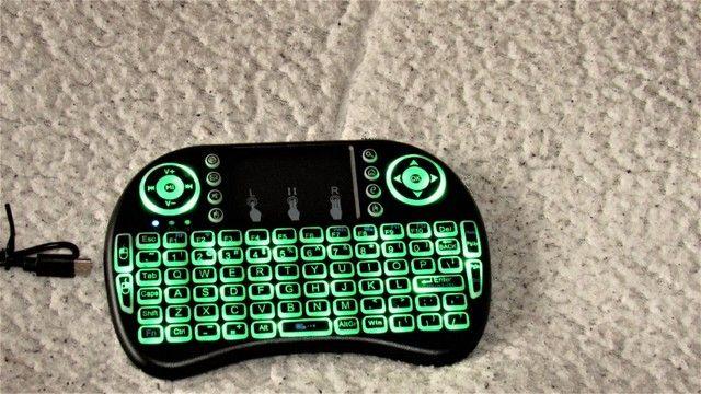 Promoção Mini Keyboard Tv smart - Foto 3